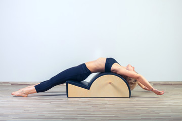 back bend in pilates classes on equipment